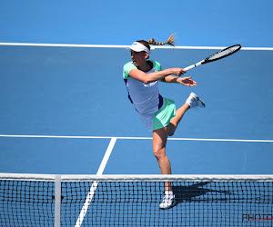 """Elise Mertens reageert na overwinning: """"Ik vond mijn niveau in de eerste set een beetje minder"""""""