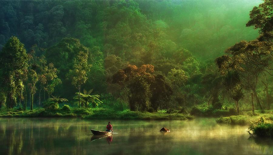 Pagi by Benny K Haruny - City,  Street & Park  City Parks ( sukabumi, lake, situ gunung, landscape )