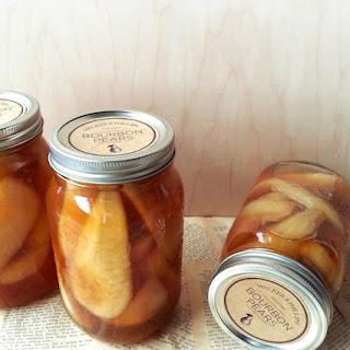 Vanilla Bourbon Pears Recipe