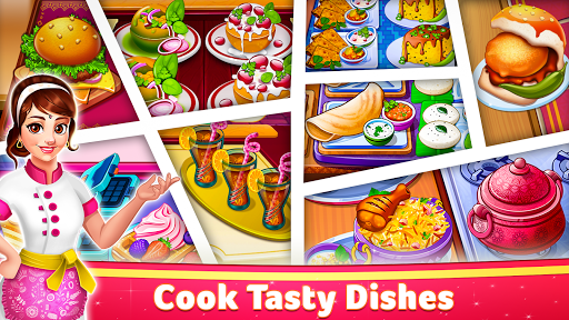 Indian Cooking Star: Chef Restaurant Cooking Games apkpoly screenshots 1