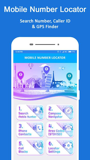 Mobile Number Location - Phone Call Locator 8.6 screenshots 8