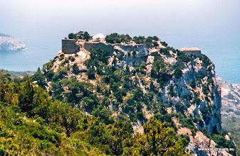 Photo: 2001-06-29. Laerma. Monolithos.  www.loki-travels.eu