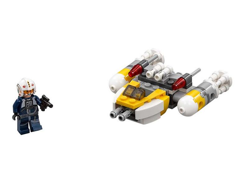 Contenido de Lego® 75162 Microfighter Y-Wing™
