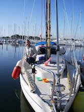 Photo: What a beautiful day... a sailing boat once again, thanks to Port Camargue