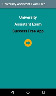 University Assistant Exam Free- screenshot thumbnail