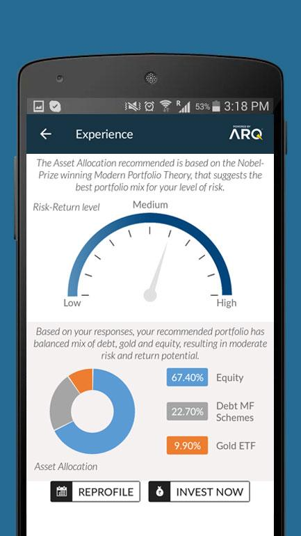 Angel Wealth - Mutual Fund Investment & Advice- screenshot