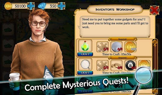 Mystery Society 2: Hidden Objects Games 8