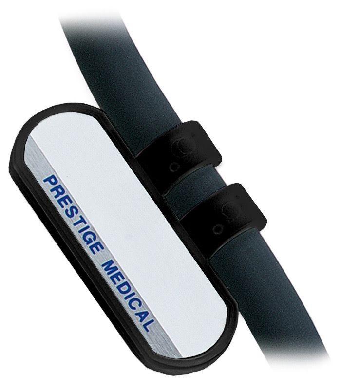 Namnskylt stetoskop - Svart