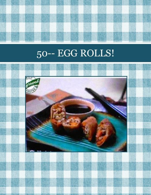 50-- EGG ROLLS!