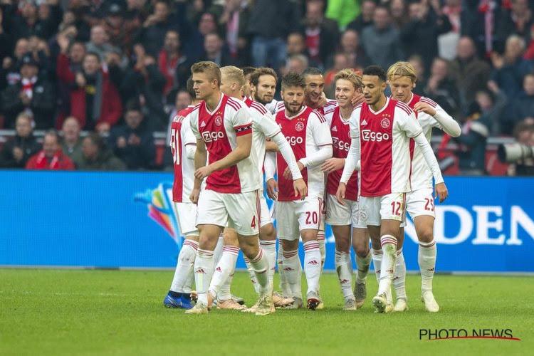 Ajax verpulvert De Graafschap: 8-0!