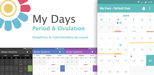 Free period tracker & ovulation calendar. Menstrual cycle tracking & period days
