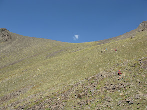 Photo: Tegermach, Yashilkul ravine, descent from Abshir pass