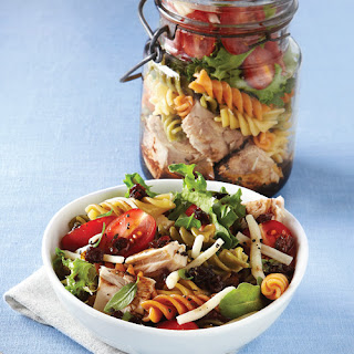 Tri-Color Pasta Salad with Tuna