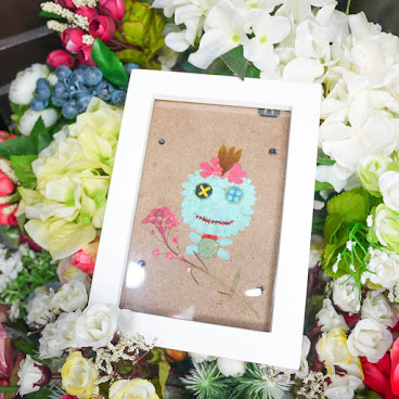 [現貨/stock] Framed Pressed Flower Picture