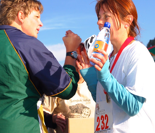 Photo: My first race and the second ever run - Quagga 15 km road, 2009