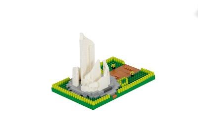 校園文創造型微積木