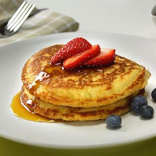 Oat Flour Pancakes.