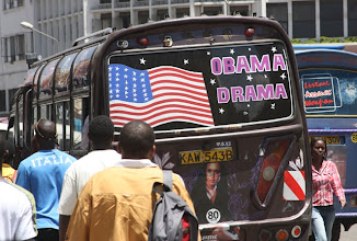 Photo: Ovviamente Obama, di padre kenyota, e' un mito in Kenya.