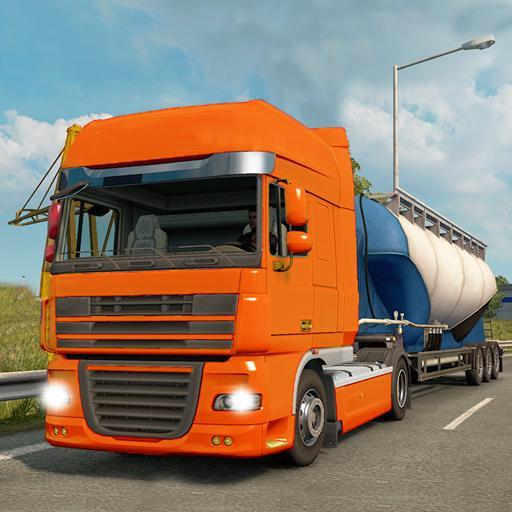 Makran Coastal highway Cargo Truck : Offroad drive