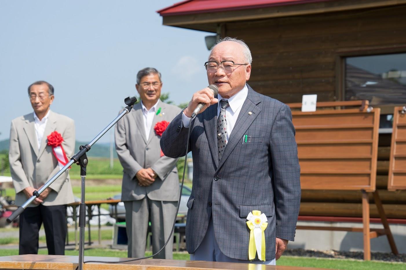 空知地区老人クラブ連合会・松村隆義様 会長