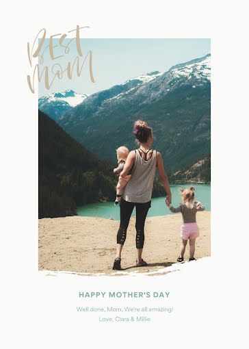 Well Done, Mom! - Mother's Day Card Template