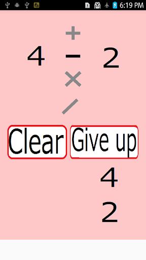 able to make 10? uff5eMake four numerals 10!uff5e 1.2.0 Windows u7528 2