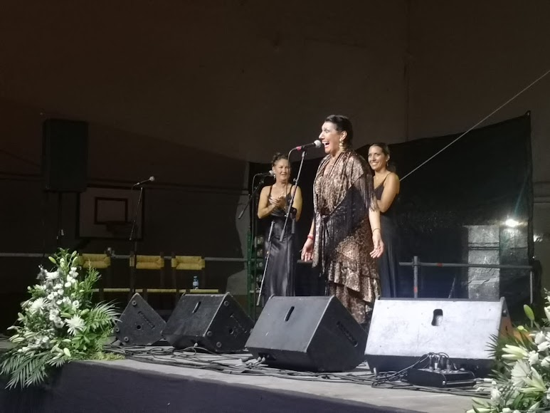 Los conciertos de flamenco contaron con grandes artistas sobre el escenario.
