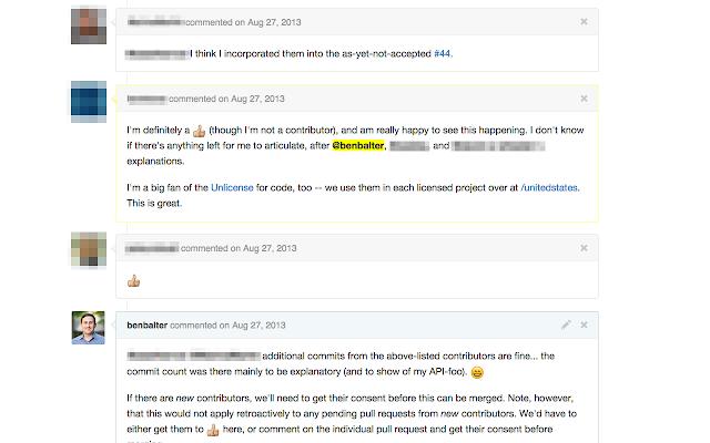 GitHub Mention Highlighter