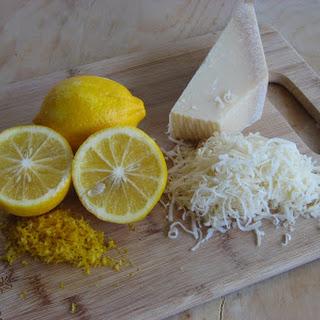 Fettuccine Alfredo with Lemon