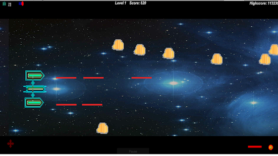2D Space Game - Free - náhled