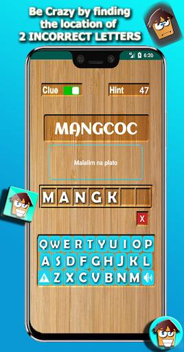 CRAZYWORD u25b2 UNIQUE WORD GAME (Filipino, English) android2mod screenshots 6
