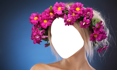 Woman Hair Flowers Editor screenshot 3