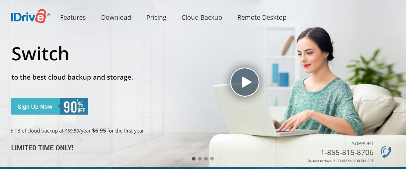 IDrive Cloud Backup Solutions