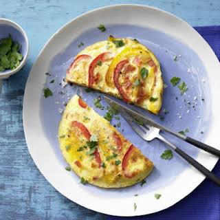 Vegetable Omelet.