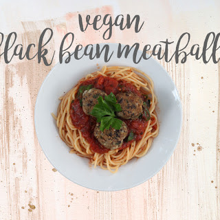 Black bean 'meatballs' | VEGAN