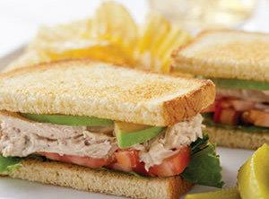 Chicken Bacon Club Sandwich Recipe