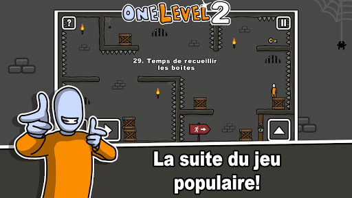 One Level 2: Stickman Jailbreak  captures d'écran 1