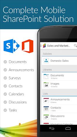 SharePlus - SharePoint Mobile Screenshot