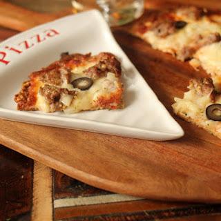 Amazing Thin Crust Pizza.