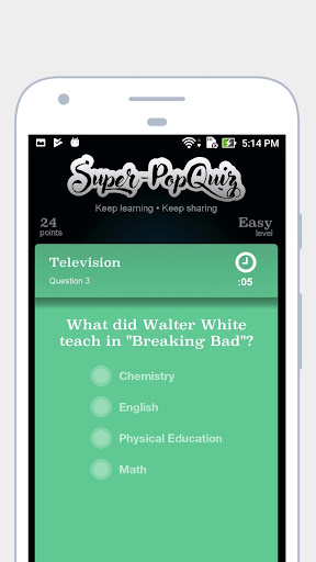 Super Pop Quiz 1.1.4 screenshots 4