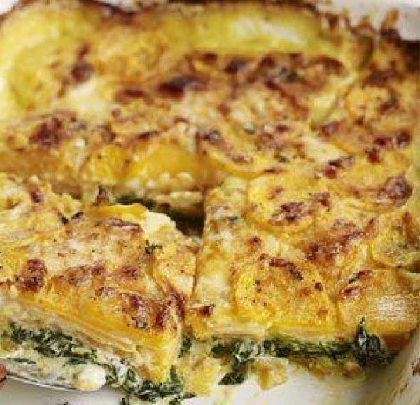 Fish And Spinach Bake Recipe