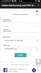 Indian Rail,Running and PNR Status,IRCTC Info - náhled