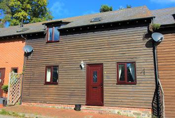Three-bed barn conversion