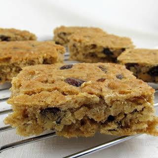 Oatmeal Raisin Honey Cookies or Bars.