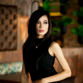 Black Potrait by Agung Blade - People Portraits of Women