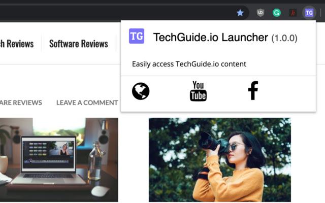 TechGuide.io Launcher