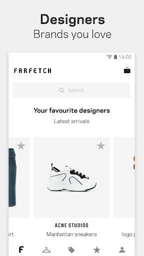 Farfetch: Shop Designer Clothing, Shoes & Gifts 2.5.8 screenshots 2