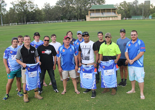 Back, Marshall Tighe, Jess O'Neil, Ryley Tout, Jacob Nichols, Brodie Rumsby, Joel Hogan, Jed Smith, Toby Bentley, front, Sean Russ, Frank Capewell, Michael Gleeson, Brenton Cochrane, Justin Knight and Jeremey Saunders.