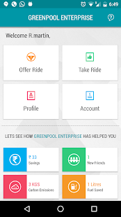 GreenPool For Work - Carpool Redefined- screenshot thumbnail