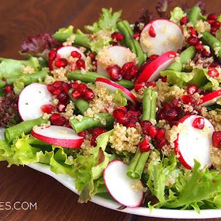 Quinoa, Radish & Pomegranate Salad